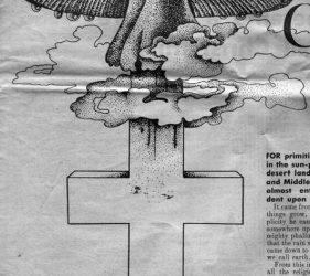Kryžius ir musmirė