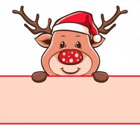 Rudolfas su musmirės nosim