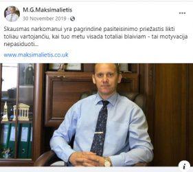 Maksimalietis Marius Gabrilavičius ir jo kliedesiai